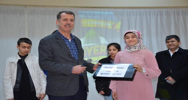 Photo of Siyer-i Nebi Sınavında Başarılı Olanlar Ödüllendirildi