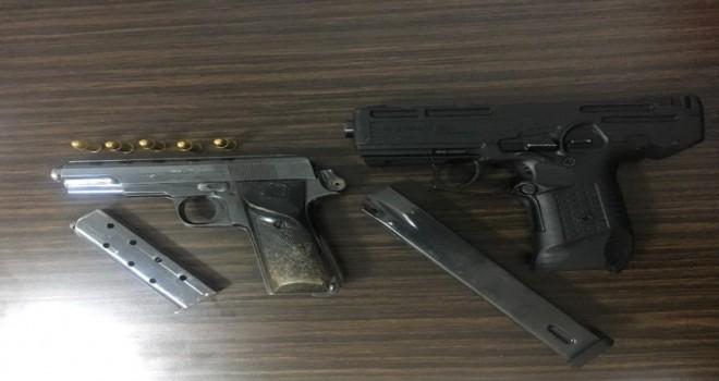 Photo of Adıyaman'da İl Jandarma Silah Ele Geçirildi