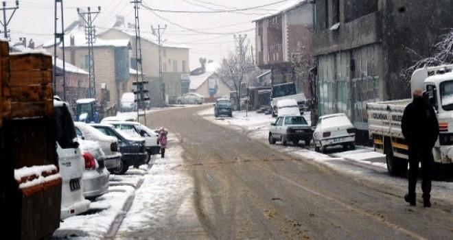 Photo of Çelikhan'a Kar Düştü