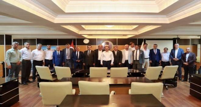 Photo of Belediyeler birliği toplandı
