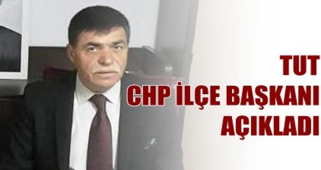 Photo of Tut CHP İlçe Başkanından Açıklama