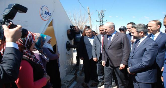 Photo of Bakan Kurtulmuş Depremzedeleri Ziyaret Etti