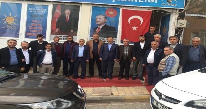 Photo of AK Parti İl Teşkilatı Gerger İlçe Yönetimiyle Toplantı Yaptı