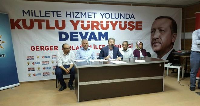 Photo of Gerger Ak Parti Teşkilatı Kongresi Yapıldı.