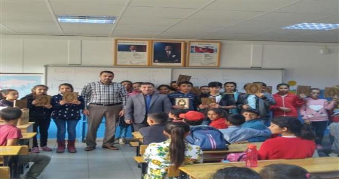 Photo of Gerger İlçe Müftüsü Çobanpınarı İlköğretim Okulunu Ziyaret Etti