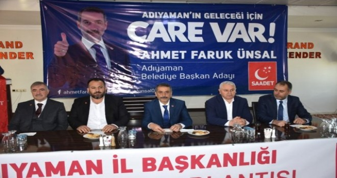 Photo of Saadet Partisi Adaylarını Tanıttı