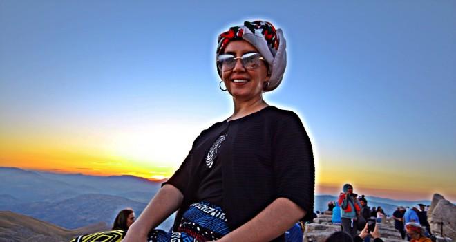 Photo of Devlet Sanatçısı Aylin Şengün Nemrut Dağında