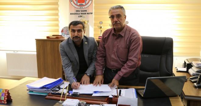 Photo of KGY Cemiyeti İle Ebu Sadık İHL Arasında İşbirliği Protokolü