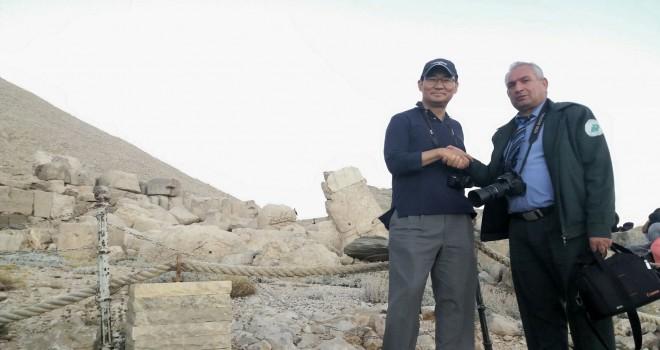 Photo of Kore Büyükelçisi Nemrut Dağında