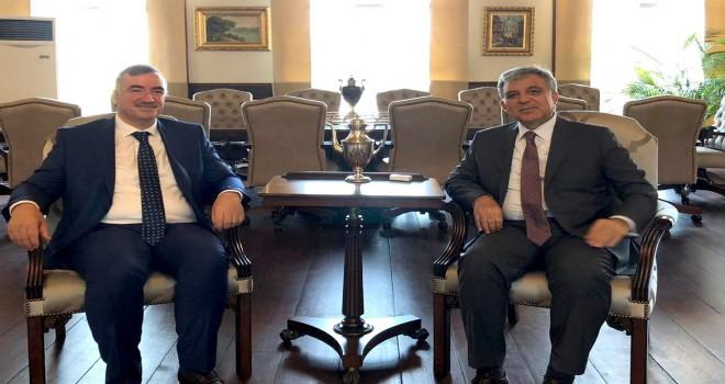 Photo of Kahta Belediye Başkanı Turanlı'dan Abdullah Gül'e Ziyaret