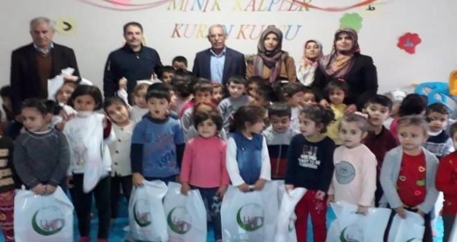 Photo of Adıyamanlılar Vakfı'ndan minik hafız adaylarına yardım