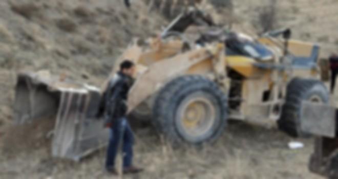 Photo of Gerger'de Kepçe Kazası
