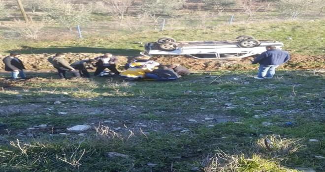 Photo of Atatür Baraj Yolunda Trafik Kazası Meydana Geldi