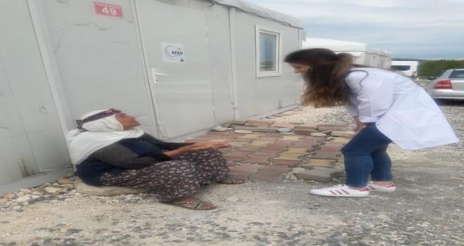 Photo of Evde Sağlık Birimi  Ekipleri Depremzedeleri  Yalnız Bırakmadı