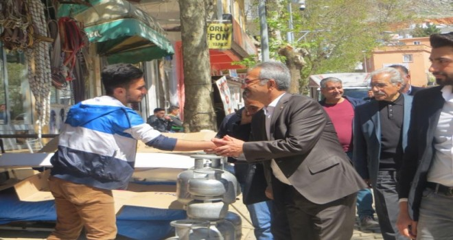 Photo of Milletvekili Behçet Yıldırım Gerger'de