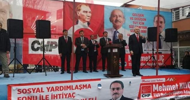 Photo of Kılıçdaroğlu Tut'ta