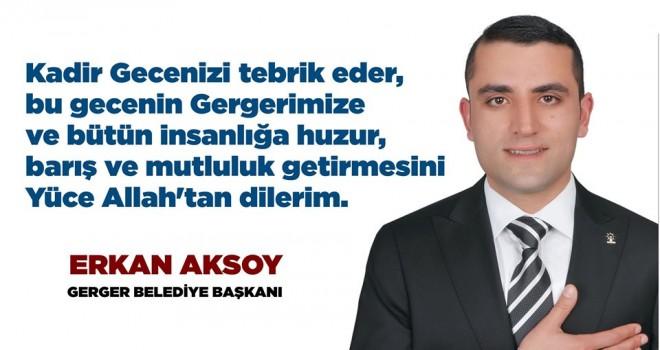 Photo of Belediye Başkanı Aksoy'dan Kandil Mesajı