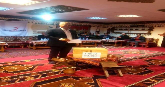 Photo of Kızılay Kahta Başkanı Kutlu Oldu