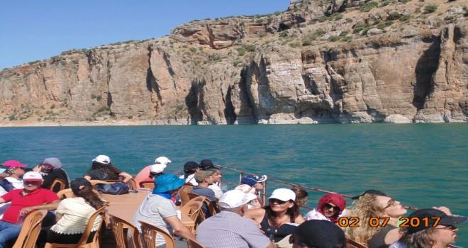 Photo of Gerger Kanyonları Ziyaretçi Akını