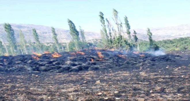 Photo of Güngörmüş Köyünde Yangın