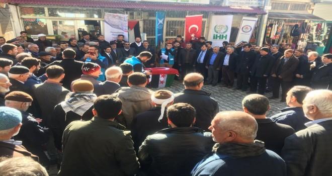Photo of Gerger'de Kudüs Protestosu