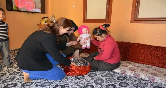 Photo of Down Sendromlu Çocuklara Ziyaret
