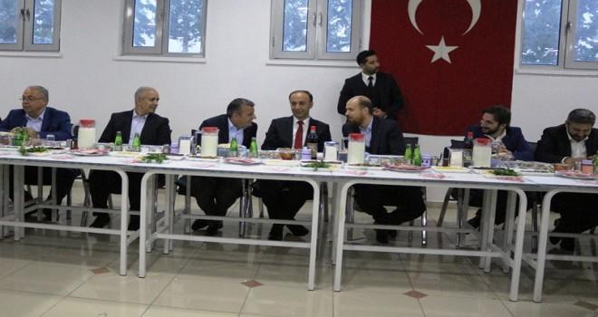 Photo of Bilal Erdoğan Hüseyin Sevinçtekin'in Misafiri Oldu