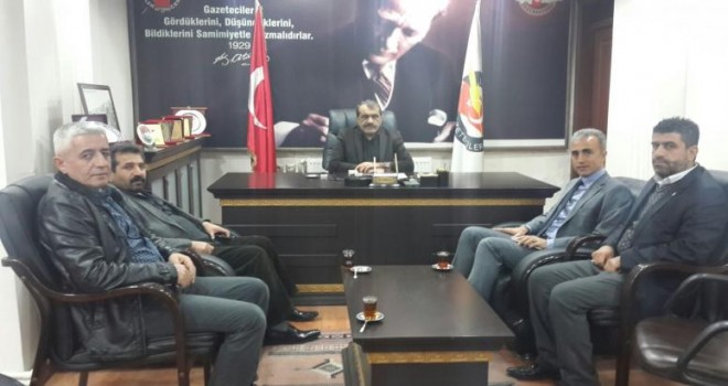Photo of Fehmi Çelik'ten Gazeteciler Cemiyetine Ziyaret