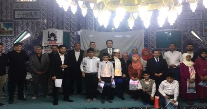 """Photo of Gürgenli'de """"Dinimi Öğreniyorum"""" Bilgi Yarışması Yapıldı"""
