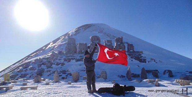 Photo of Adıyaman Nemrut Dağında Kayak Keyfi
