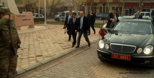 Photo of Adıyaman Valisinden Gerger Kaymakamına Ziyaret