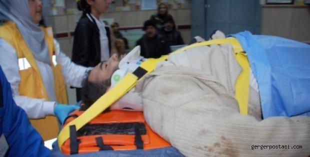Photo of Adıyaman'da 3. Kattan Düşen İşçi,Ağır Yaralandı