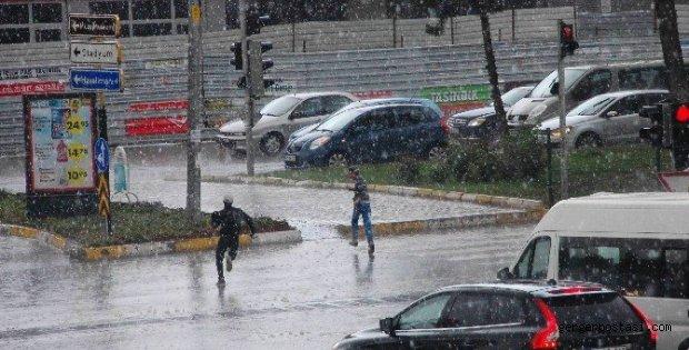 Photo of Adıyaman'da, Şiddetli Yağmur ve Dolu Yağışı