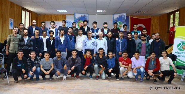 Photo of Adıyamanlılar  Vakıf yöneticileri ve Adıyamanlı  öğrenciler Kampta Bir Araya Geldiler