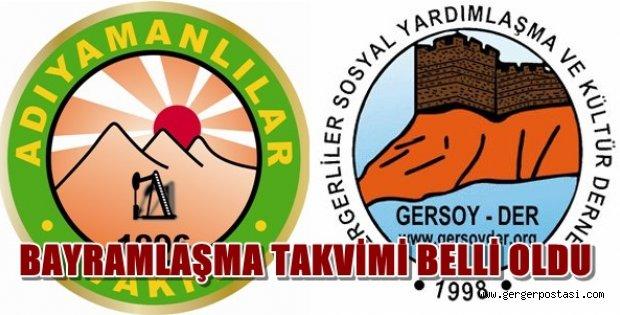 Photo of Adıyamanlılar Vakfı ve Gergerliler Derneği Bayramlaşma Törenleri Belli Oldu