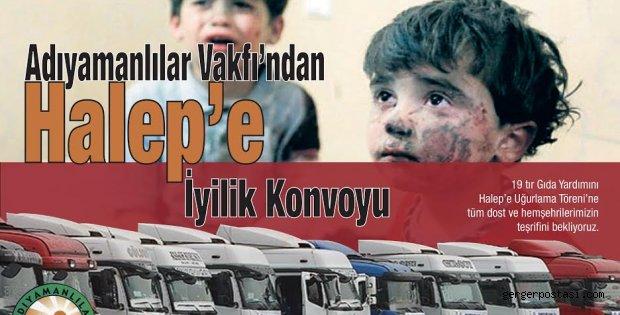 Photo of Adıyamanlılar Vakfından Halep'e Yardım Eli.