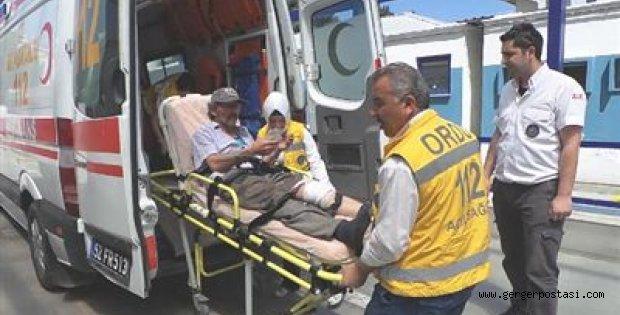 Photo of Ağaç Keserken Bacağını Yaraladı