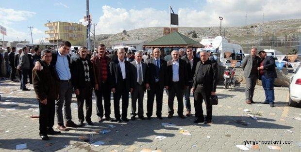 Photo of Ak Parti Gerger Teşkilatından Gergerli Adaylara Destek
