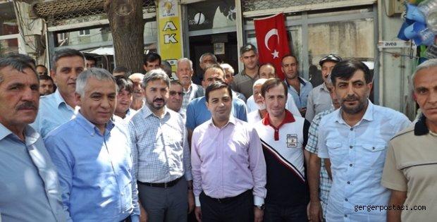 Photo of Ak Partili Milletvekilleri Gerger İlçesini Ziyaret Etti