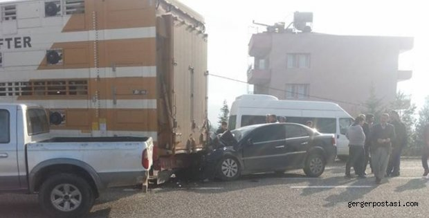 Photo of Almanyadan Geldi Kahta'da kaza Geçirdi