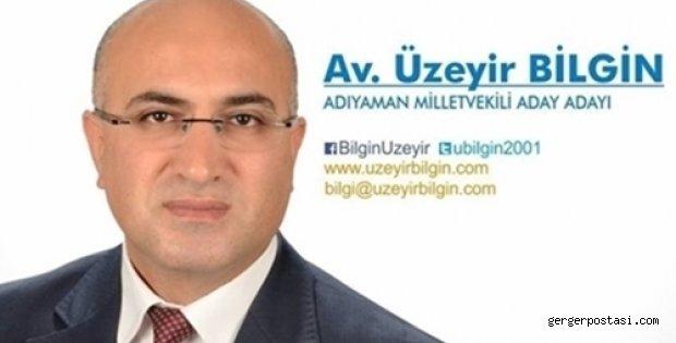 Photo of Avukat Üzeyir Bilgin : Yeni Ve Güçlü Bir Türkiye İçin Bende Varım Dedi
