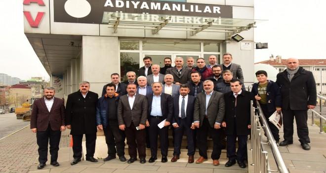 Photo of İstanbul'daki Adıyaman STK'ları Adıyamanlılar Vakfı'nda buluştu