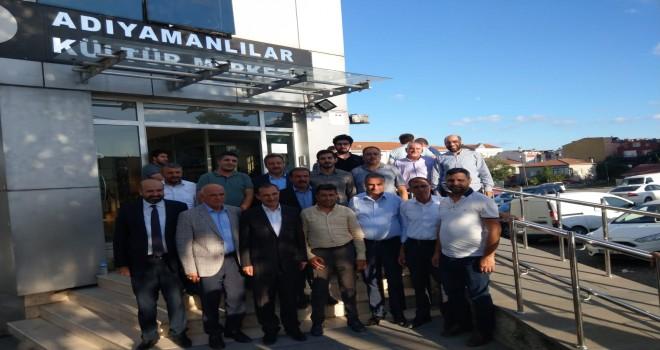 """Photo of Dağtekin'den Başkan Aybak'a """"Hayırlı Olsun"""" Ziyareti"""