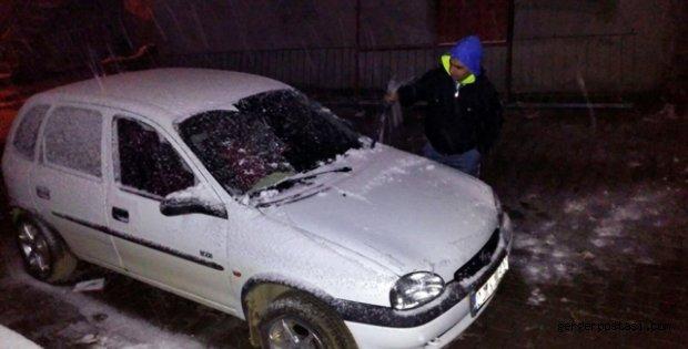 Photo of Çelikhan'da Kar Yağışlı Başladı