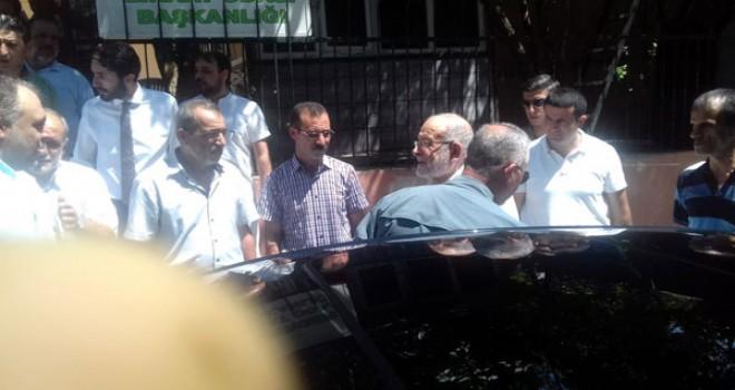 Photo of Saadet Lideri Karamollaoğlu Gerger'de