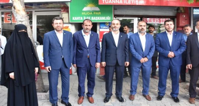 Photo of Hüda-Par Seçim Startını Kahta'da Verdi