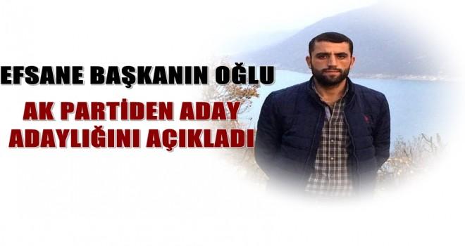 Photo of Efsane Başkanın Oğlu Aday Adaylığını Açıkladı