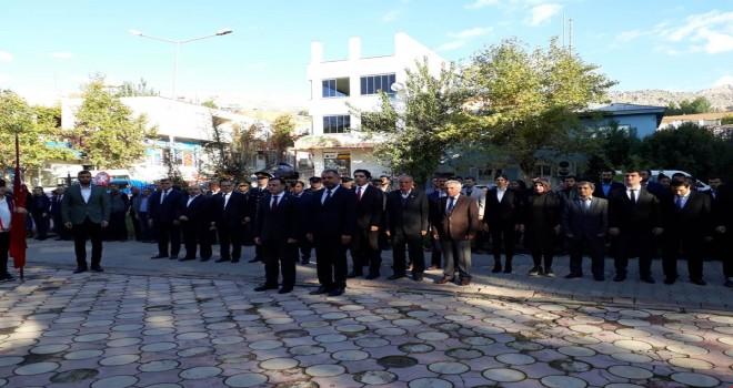 Photo of Gerger'de 10 Kasım Atatürk'ü Anma Programı Gerçekleştirildi.