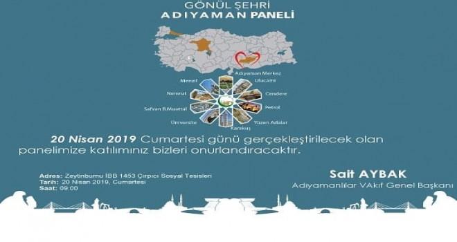 """Photo of Adıyamanlılar Vakfı'ndan """"Gönül Şehri Adıyaman"""" Paneli"""