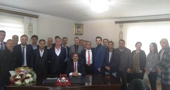 Photo of Mehmet Kılıç Göreve Başladı.